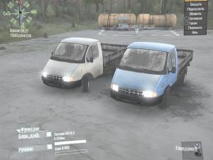 Скачать мод грузовик Газ-3302 «Газель» для Spintires MudRunner