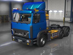 Скачать мод грузовик МАЗ-6422 v.3 для Euro Truck Simulator 2 v. 1.25