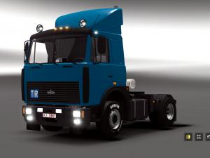 Скачать мод грузовик МАЗ-64229/54323 v.4.1 для Euro Truck Simulator 2 v. 1. ...
