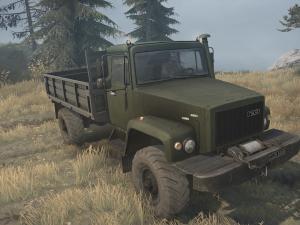 Скачать мод грузовик Газ-3308 «Садко» для Spin Tires MudRunner