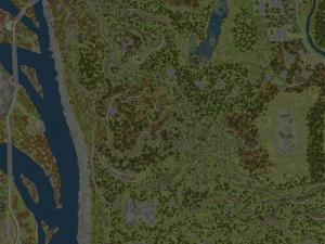 Скачать мод карта «Межгорье (осень)» для Spintires MudRunner