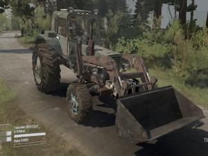 Скачать мод трактор МТЗ-82 для Spintires MudRunner