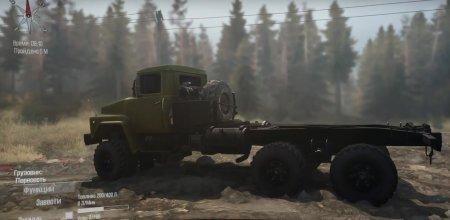Скачать мод грузовик Краз-260G для Spintires MudRunner