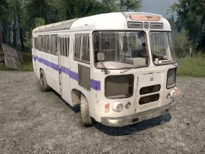 Скачать мод автобус Паз-672 версия 11.01.18 для Spintires MudRunner