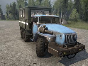Скачать мод ПАК грузовиков Урал-4320-10 версия 23.01.18 для Spintires MudRu ...