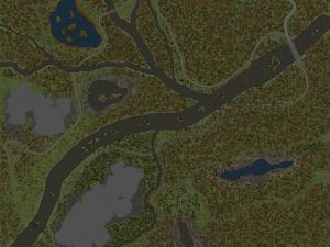 Скачать мод карта «Розовские долины!» для Spintires MudRunner
