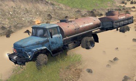 Скачать мод грузовик Амур-531384 версия 2.1 для Spintires v. 03.03.16