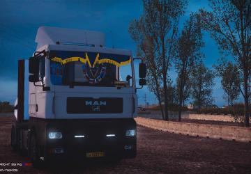 Скачать мод грузовик MAN TGA v.1.3 для Euro Truck Simulator 2 v. 1.26-1.30