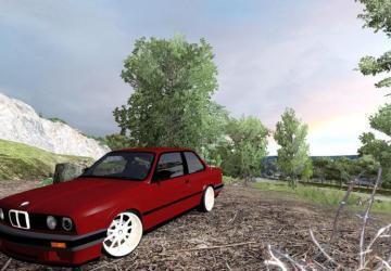 Скачать мод BMW 325i 1991 - E30 для Euro Truck Simulator 2 v. 1.28-1.30