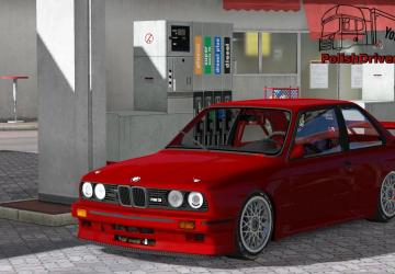 Скачать мод BMW M3 E30 для Euro Truck Simulator 2 v. 1.31
