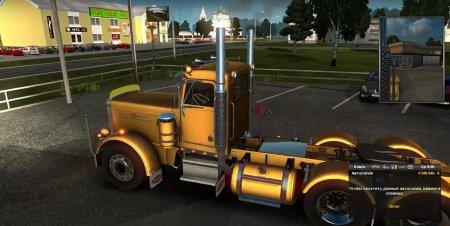 Скачать мод грузовик Peterbilt 359 для Euro Truck Simulator 2 v. 1.28-1.30