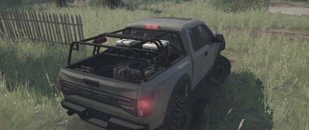 Скачать мод Ford Raptor Overland для Spintires MudRunner