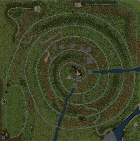 Скачать мод карта «Experimental 2» для Spintires v. 03.03.16