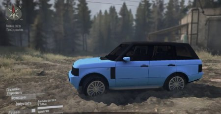 Скачать мод Range Rover «Понторезка» для Spintires MudRunner