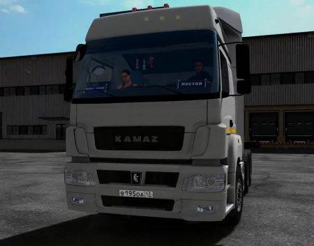 Скачать мод грузовик Камаз-5490 v.2.0 для Euro Truck Simulator 2 v. 1.31