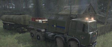Скачать мод грузовик МЗКТ «Волат» для Spintires MudRunner