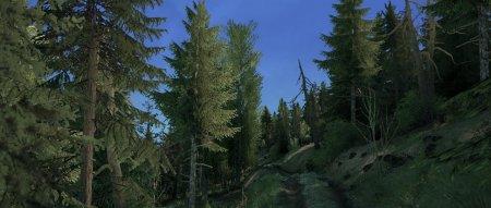Скачать мод карта «Через болото» для Spintires MudRunner