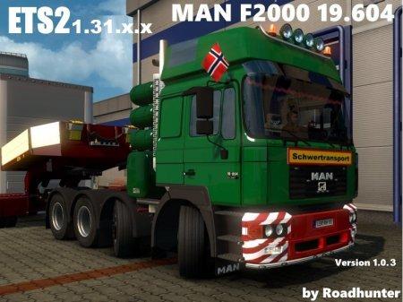 Скачать мод грузовик MAN F2000 v.25.04.18 для Euro Truck Simulator 2 v. 1.3 ...