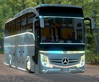 Скачать мод автобус Mercedes-Benz Travego v.5.3 для Euro Truck Simulator 2  ...