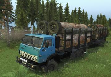 Скачать мод грузовик Камаз-4310 «ARMATA» версия 26.05.18 для Spintires v. 0 ...
