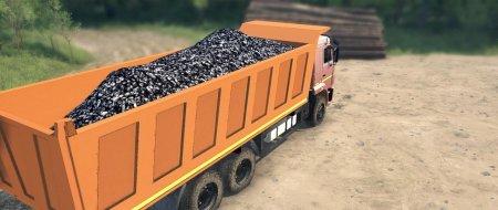 Скачать мод грузовик КамАЗ-65117 для Spintires MudRunner