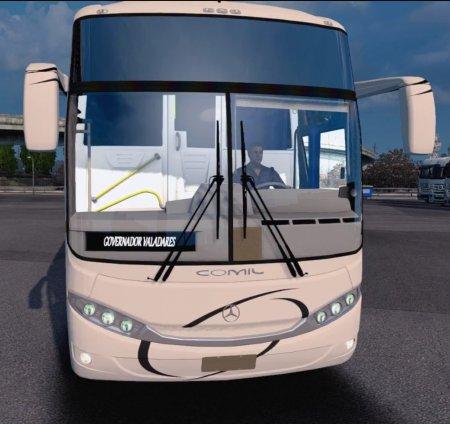 Скачать мод автобус Comil Campione 3.65 для Euro Truck Simulator 2 v. 1.28- ...