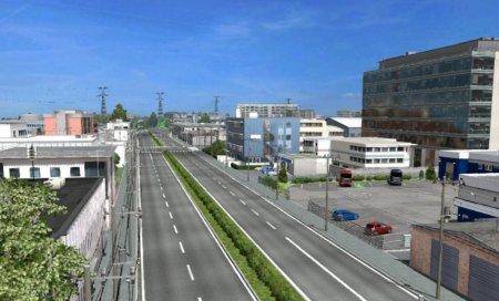 Скачать мод карта «Project Japan» v.0.1 patch 2 для Euro Truck Simulator 2 v. 1.30