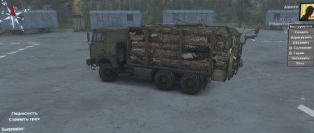 Скачать мод грузовик Маз-6317 Автовоз версия 1.1 для Spintires v. 03.03.16