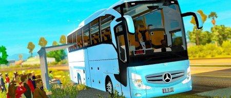 Скачать мод автобус Mercedes-Benz Travego v.5.3 для Euro Truck Simulator 2 v. 1.31
