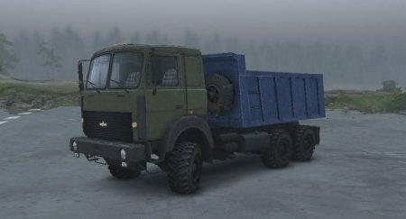 Скачать мод грузовик Маз-6317 Автовоз версия 2.0 для Spintires v. 03.03.16