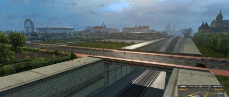 Скачать мод карта Romania Extended Map v.1.4 для Euro Truck Simulator 2 v. 1.31