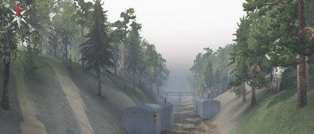 Скачать мод карта «Jacinto's Gorges» для Spintires v. 03.03.16