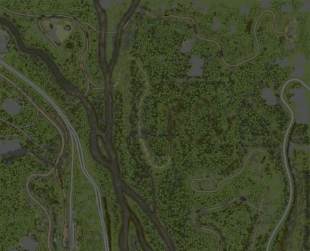 Скачать мод карта «Горная долина/Mountain valley» версия 26.05.18 для Spintires MudRunner