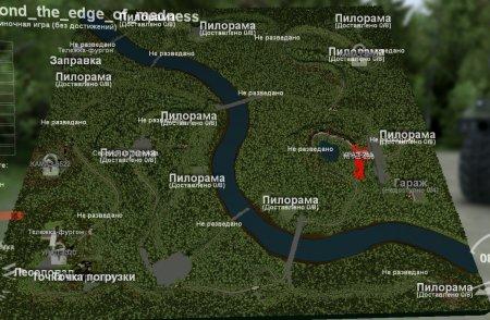 Скачать мод карта «За гранью безумия» для Spintires v. 03.03.16