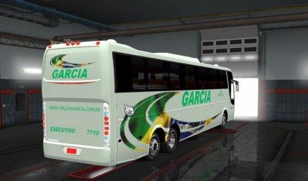 Скачать мод автобус Caio Giro 3600 для Euro Truck Simulator 2 v. 1.31