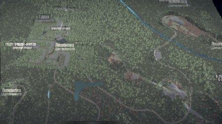 Скачать мод карта «Шепот леса» для Spintires MudRunner