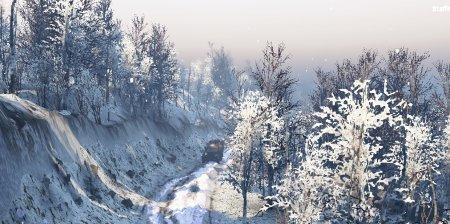 Скачать мод карта «Белый плен» для Spintires v. 03.03.16