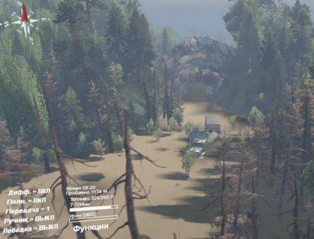 Скачать мод карта «Тайганка» для Spintires v. 03.03.16