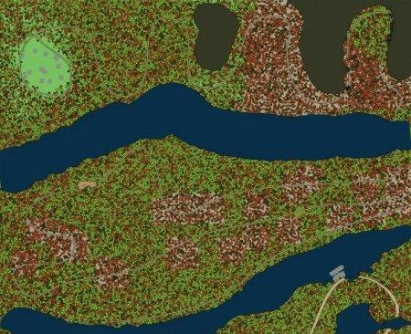 Скачать мод карта «Долгое путешествие» для Spintires MudRunner