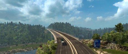 Скачать мод карта Grand Utopia для Euro Truck Simulator 2 v. 1.31