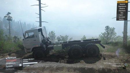 Скачать мод грузовик Камаз-4310 Green Stripes для Spintires MudRunner