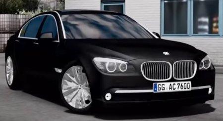 Скачать мод BMW-760Li V12 v.1.1 для Euro Truck Simulator 2 v. 1.31