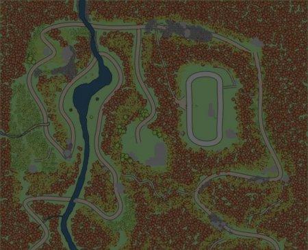 Скачать мод карта «Yankee Mountain» для Spintires MudRunner