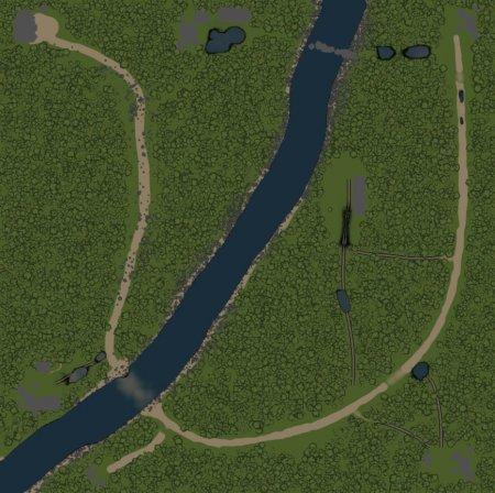 Скачать мод карта «На полчасика» для Spintires v. 03.03.16