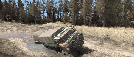 Скачать мод грузовик Газ-66 для Spintires MudRunner