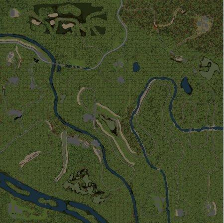 Скачать мод карта «20 - Юбилейная» для Spintires v. 03.03.16