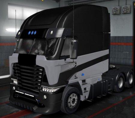 Скачать мод грузовик Freightliner Argosy TF4 (Galvatron) для Euro Truck Sim ...