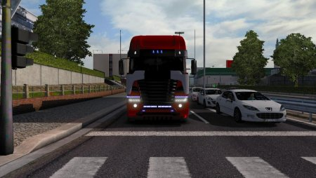 Скачать мод грузовик Freightliner Argosy TF4 (Galvatron) для Euro Truck Simulator 2 v. 1.31-1.32