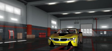 Скачать мод BMW i8 2016 v.09.09.18 для Euro Truck Simulator 2 v. 1.31-1.32