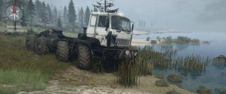 Скачать мод карта «Суровая Тайга 4: Пересекая реку» для Spintires MudRunner